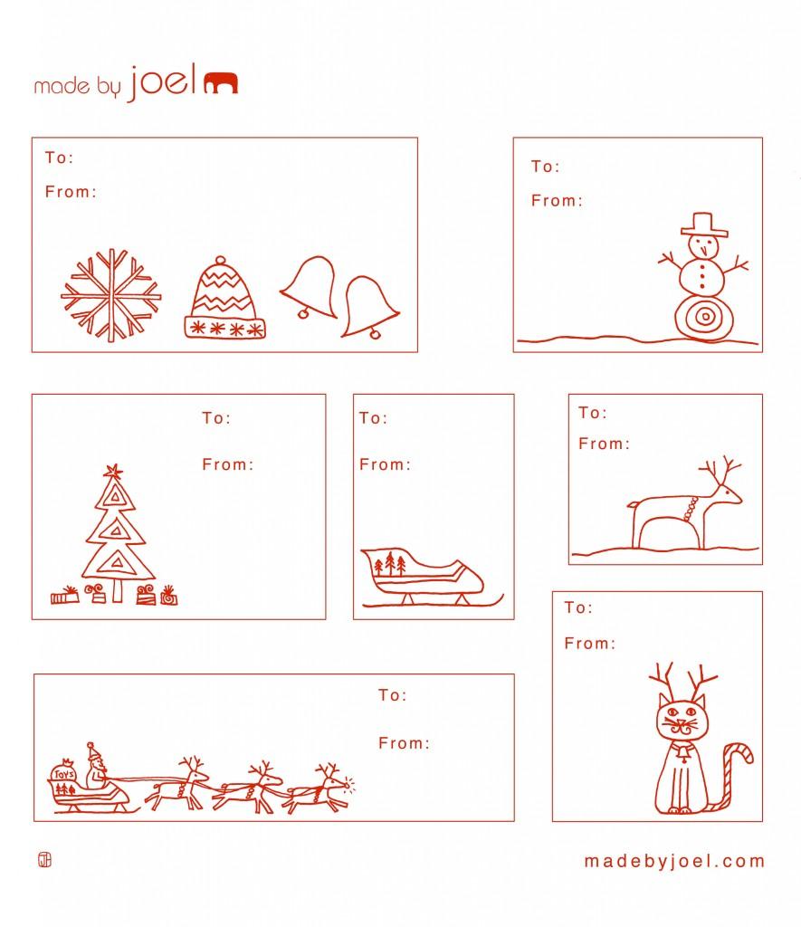 design  free printable holiday gift tags