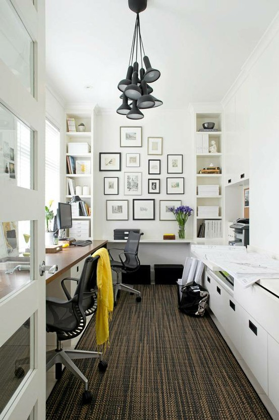 White office space | sparklingandsweet.com